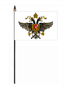 Queen's Dragoons Hand Flag - Small.